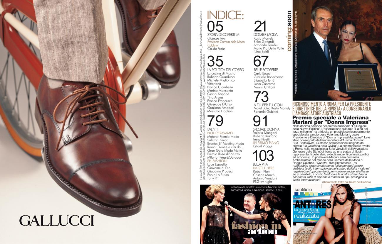 Donna Impresa Magazine Giuseppe Fata Porto San Giorgio